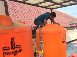 Cara Membersihkan Tandon Air